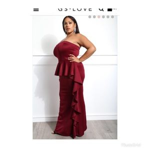 5bede0b772a3 GS Love Dresses - 4th of July sale! Sexy Plus Size Evening Dress